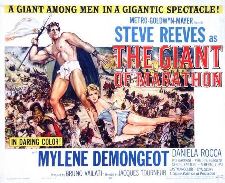 Giant of Marathon (1959) Poster
