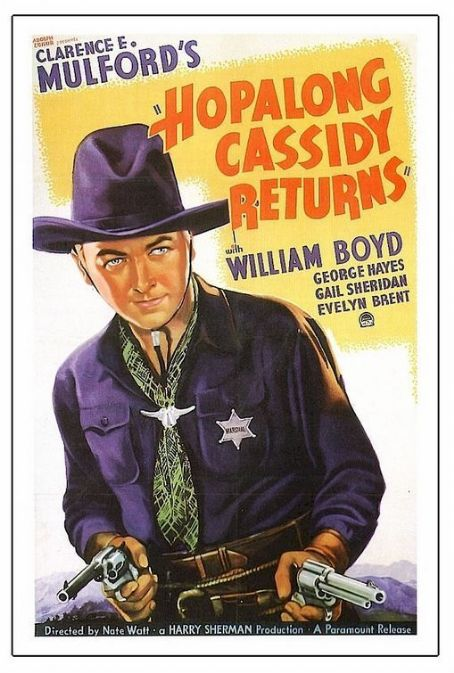 Hopalong Cassidy Returns (1936) Poster