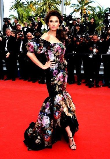 Bianca Balti in Dolce & Gabbana  2012 Cannes Film Festival