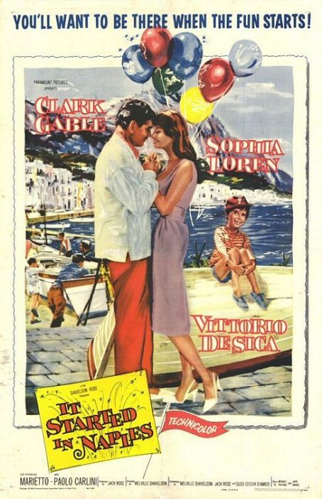 It Started in Naples (1960) Poster