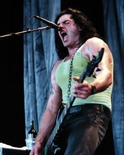 Peter Steele in concert with Type O Negative