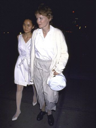 Soon-Yi Previn Actress Mia Farrow and her adopted daughter