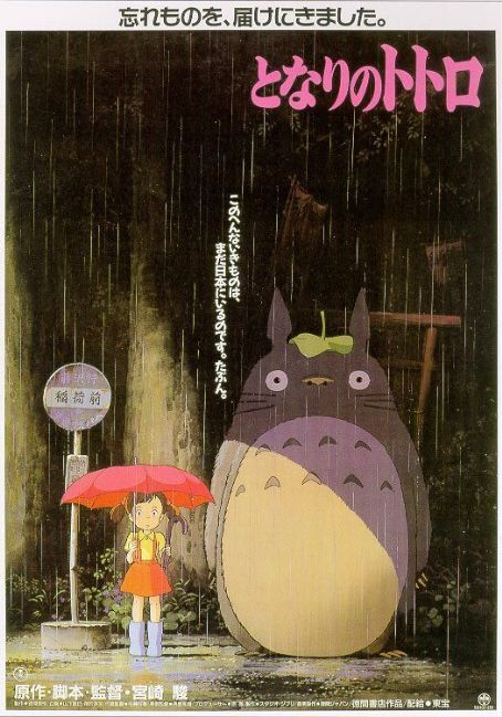My Neighbor Totoro (1988) Poster