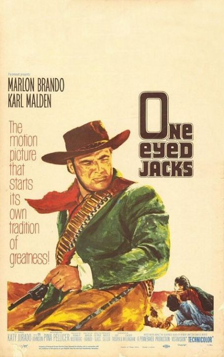 One-Eyed Jacks (1961) Poster