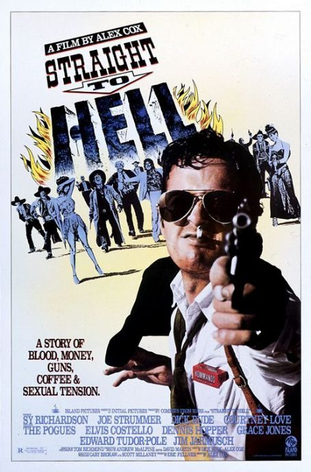 Straight to Hell (1987) Poster