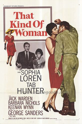 That Kind of Woman (1959) Poster
