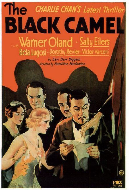 The Black Camel (1931) Poster