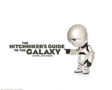 The Hitchhiker's Guide to the Galaxy The Hitchhiker's Guide to the Galaxy wallpaper - 2005