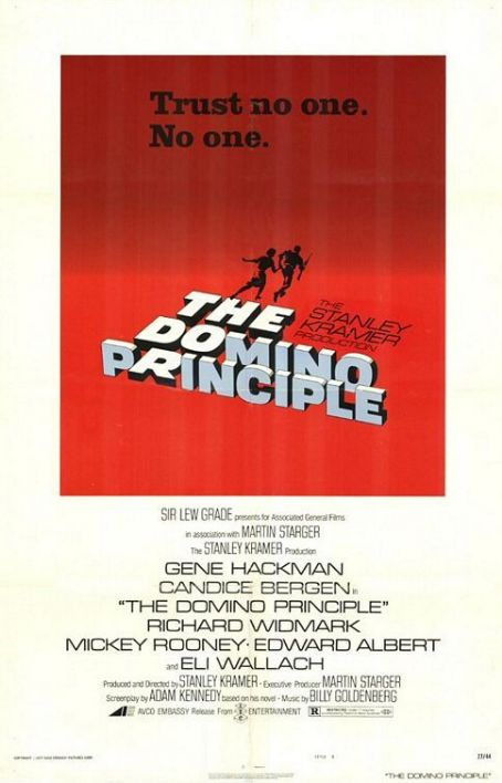 The Domino Principle (1977) Poster