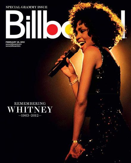 Whitney Houston - Billboard Magazine Cover [United States] (25 February 2012)