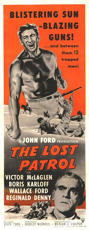 The Lost Patrol (1934) Poster