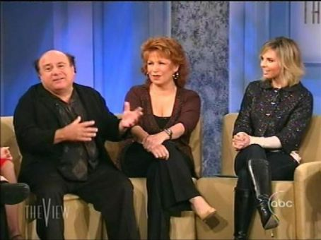 Joy Behar Danny Devito n The View