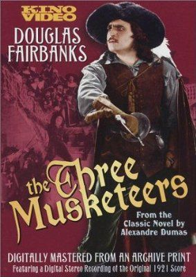 The Three Musketeers (1921) Poster
