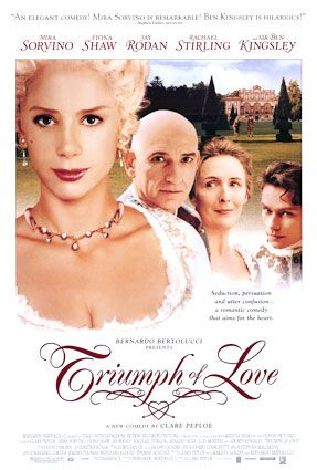 The Triumph of Love (2001) Poster