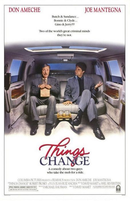Things Change (1988) Poster