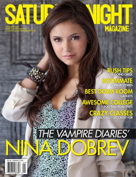 Nina Dobrev - Saturday Night Magazine [United States] (September 2010)