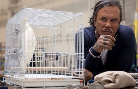Mickey Rourke star as Ivan Vanko in Paramount Pictures' Iron Man 2.