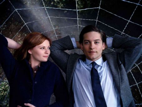 Mary Jane Watson Kirsten Dunst (left) as  and Tobey Maguire as Peter Parker star in Columbia Pictures' Spider-Man 3. Photo Credit: Courtesy Columbia Pictures. Copyright© 2006 Sony Pictures Entertainment Inc.. All rights reserved.