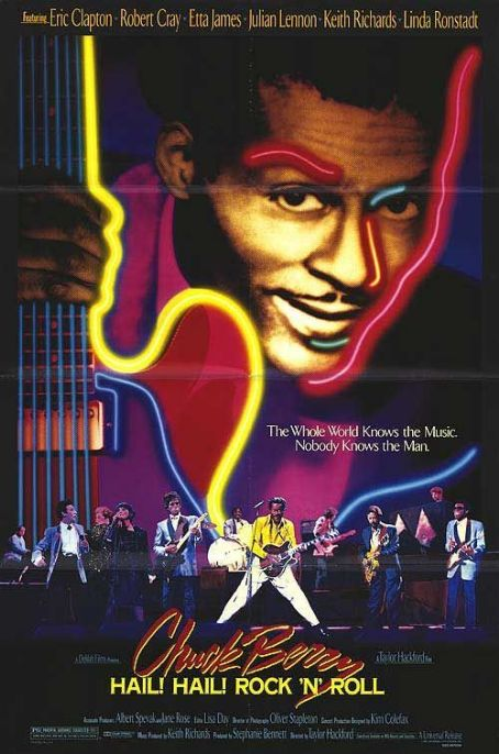 Chuck Berry Hail! Hail! Rock 'n' Roll (1987) Poster