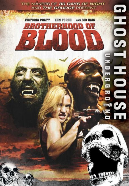Sid Haig Brotherhood of Blood Poster
