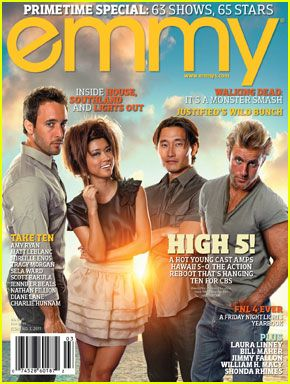 Alex O'Loughlin: 'Emmy' Cover with 'Hawaii Five-0' Cast!