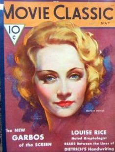 Marlene Dietrich - Movie Classic Magazine [United States] (May 1932)