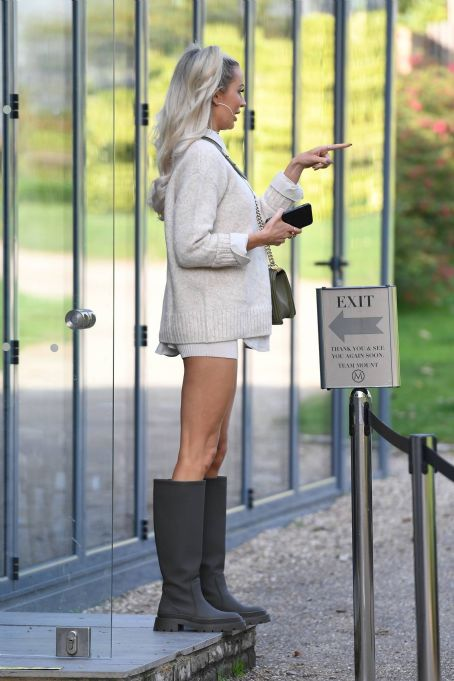 Olivia Attwood – The Only Way is Essex TV Show filming in Essex