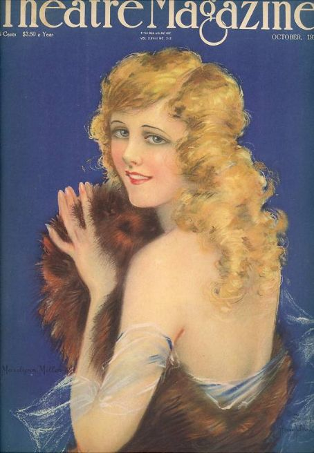 Marilyn Miller - Theatre Magazine [United States] (October 1918)