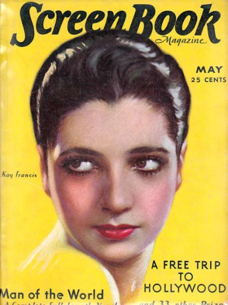Kay Francis - Screen Book Magazine [United States] (May 1931)