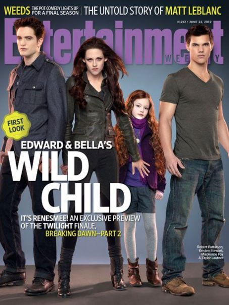 Taylor Lautner - Kristen Stewart - Entertainment Weekly Magazine Pictorial [United States] (22 June 2012)
