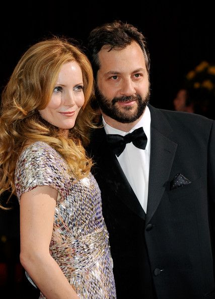 Judd Apatow Leslie Mann and  Photograph