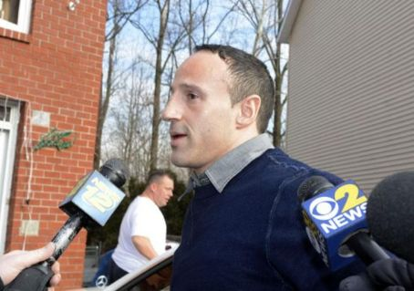 Lillo Brancato  arrives at his Yonkers home after being released from jail Tuesday morning December 31, 2013