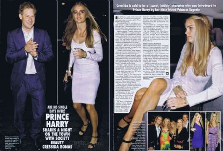 Cressida Bonas Prince Harry Windsor and