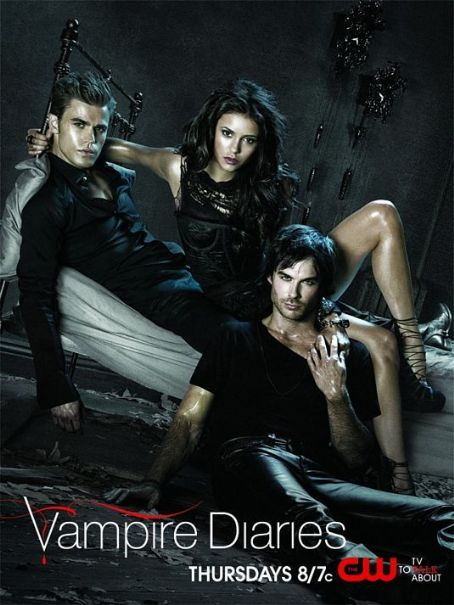 Damon Salvatore The Vampire Diaries Second Season Poster
