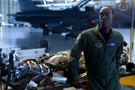 "Don Cheadle plays Col. James ""Rhodey"" Rhodes in ""Iron Man 2."" Photo credit: Francois Duhamel / Marvel. © 2010 MVLFFLLC. TM & © 2010 Marvel. All Rights Reserved."