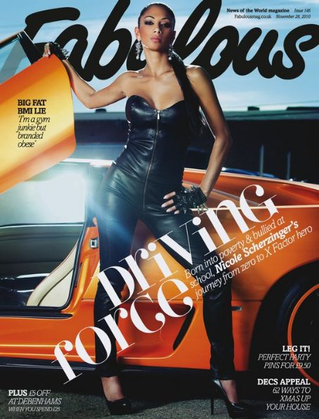 Nicole Scherzinger - Fabulous Magazine [United Kingdom] (28 November 2010)