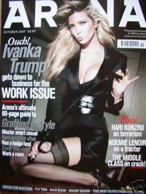 Ivanka Trump - Arena Magazine [United Kingdom] (October 2007)
