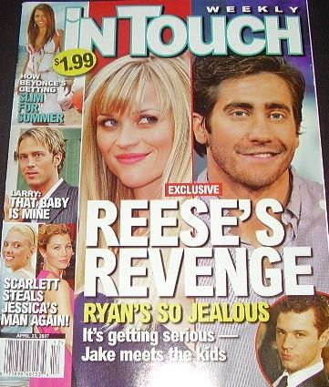 Reese Witherspoon - In Touch Weekly Magazine [United States] (23 April 2007)