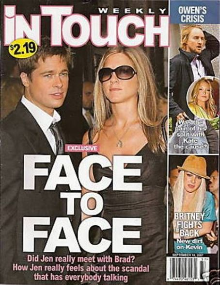 Jennifer Aniston - In Touch Weekly Magazine [United States] (10 September 2007)
