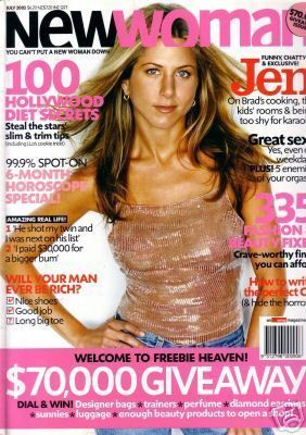 Jennifer Aniston - New Woman Magazine [Australia] (July 2003)