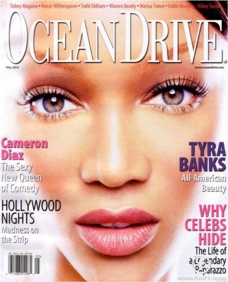 Tyra Banks - Ocean Drive Magazine [United States] (May 2002)