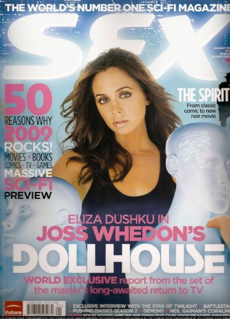 Eliza Dushku - SFX Magazine [United Kingdom] (January 2009)