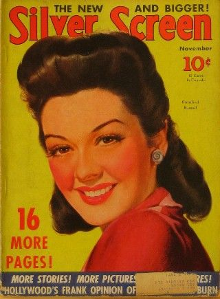 Rosalind Russell - Silver Screen Magazine [United States] (November 1940)