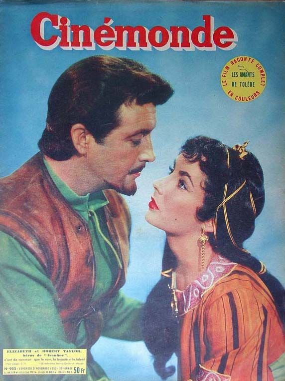 Elizabeth Taylor - Cinemonde Magazine [France] (21 November 1952)