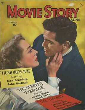 Joan Crawford - Movie Story Magazine [United States] (January 1947)