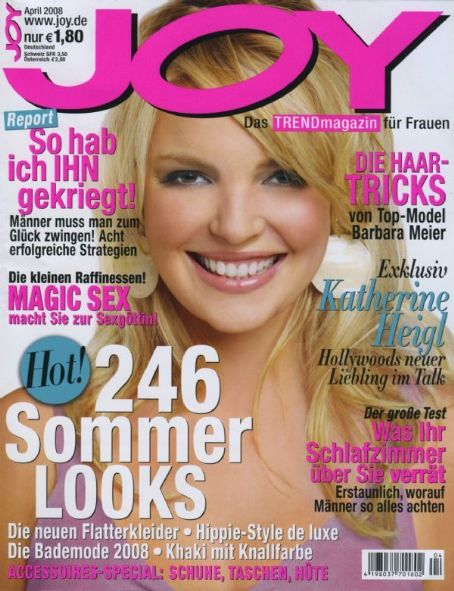 Katherine Heigl - Joy Magazine [Germany] (April 2008)