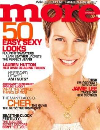 Jamie Lee Curtis - More Magazine [United States] (September 2002)
