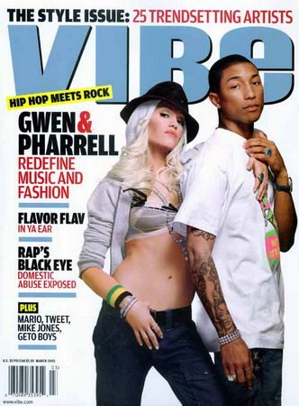 Gwen Stefani - Vibe Magazine [United States] (March 2005)