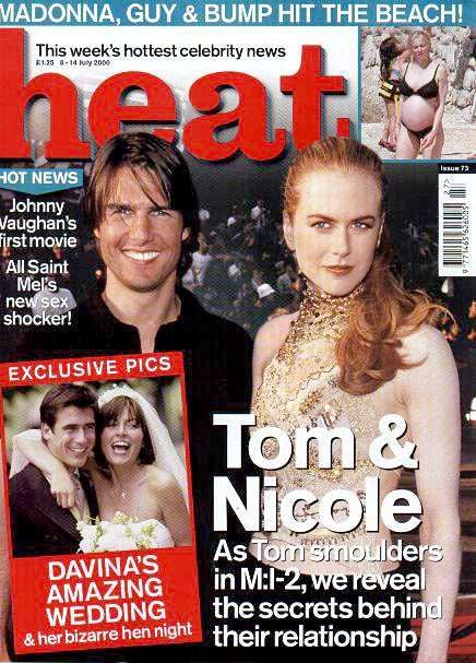 Tom Cruise - Heat Magazine [United Kingdom] (8 July 2000)