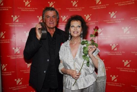 Florin Piersic  and Claudia Cardinale